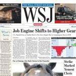 Wall Street Journal 1-Year (Print) Subscription
