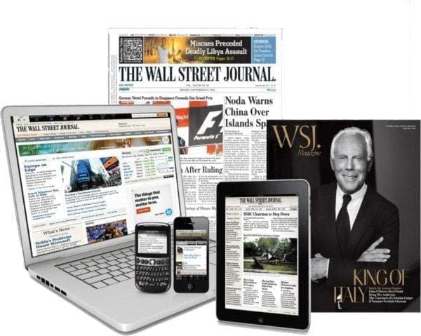Ultimate 18-Month All Access (Print & Digital) Wall Street Journal Subscription