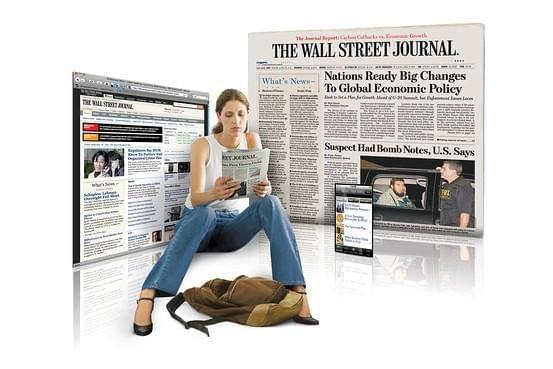 (Print & Digital) Wall Street Journal 9-Month Subscription